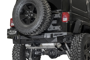 ADD Offroad Stealth Fighter Rear Bumper | 2007-2018 Jeep Wrangler JK