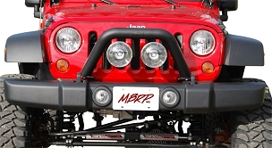 MBRP Front Light Bar/Grill Guard | 2007 - 2018 Jeep Wrangler JK