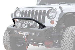 ADD Offroad Modular Stealth Fighter 6 in. Round Lights Top Hoop | 2007-2018 Jeep Wrangler JK
