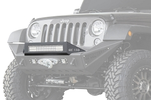ADD Offroad Modular Stealth Fighter 20 in. Light Bar Top Hoop | 2007-2018 Jeep Wrangler JK