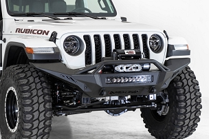 ADD Offroad Stealth Fighter Full Length Winch Front Bumper | 2018 - 2020 Jeep JL/JT