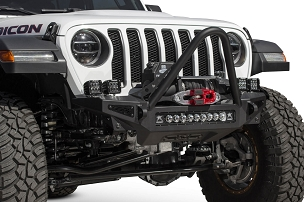 ADD Offroad Rock Fighter Stinger Winch Front Bumper | 2018-2020 Jeep JL/JT