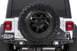 ADD Offroad Stealth Fighter Tire Carrier | 2018-2019 Jeep Wrangler JL