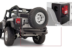 Bushwacker Trail Armor Rear Corner | 2007 - 2018 Jeep Wrangler JK