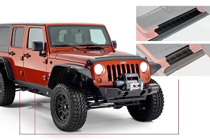 Bushwacker Trail Armor Side Rocker | 2007 - 2018 Jeep Wrangler JK Unlimited