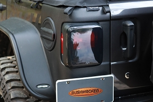 Bushwacker Trail Armor Rear Corner | 2018 - 2019 Jeep Wrangler JL