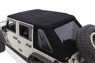Bushwacker Trail Armor Fastback Soft Top | 2007 - 2018 Jeep Wrangler JK