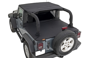 Bushwacker Trail Armor Flatback Soft Top | 2007 - 2018 Jeep Wrangler JK