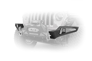 DV8 Offroad FBJL-02W Modular Add-on Side Wings | 2018 - 2021 Jeep JL/JT