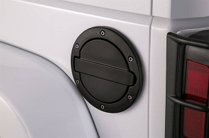 AMP Fuel Door (Black) | 2007 - 2018 Jeep Wrangler JK