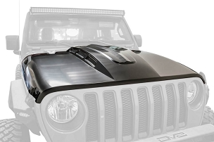 DV8 Offroad Heat Dispersion Hood | 2018 - 2020 Jeep JL/JT