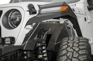 ADD Offroad Rock Fighter Front Inner Fender Liners | 2018-2019 Jeep Wrangler JL