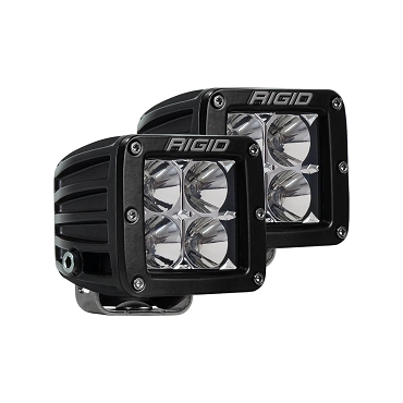 RIGID D-Series PRO Flood LED (Pair)