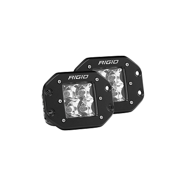 RIGID D-Series PRO Spot LED Flush Mount (Pair)