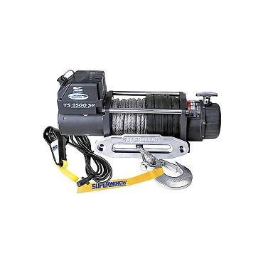 Superwinch Tiger Shark 9,500 LB Sythetic Rope Winch