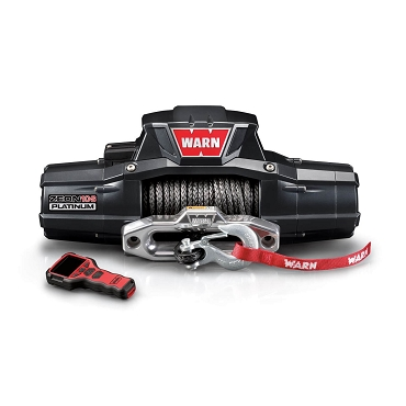 WARN Zeon 10-S Platinum 10,000 LB Synthetic Rope Winch