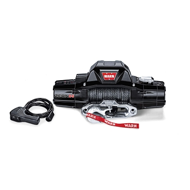 WARN Zeon 8-S 8,000 LB Synthetic Rope Winch
