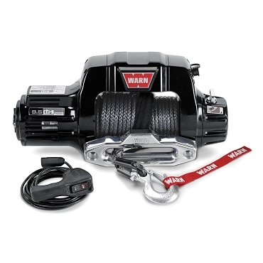 WARN 9.5cti-s 9,500 LB Synthetic Rope Winch