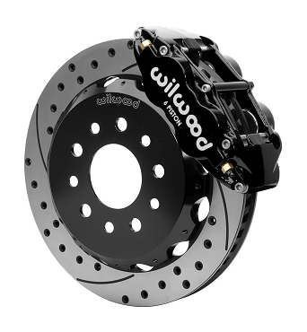 Wilwood Forged Narrow Superlite 6R Big Brake Front Brake Kit | 2007 - 2018 Jeep Wrangler JK