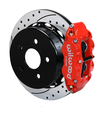 Wilwood Forged Narrow Superlite 4R Big Brake Rear Brake Kit | 2007 - 2018 Jeep Wrangler JK